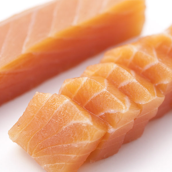 Natural salmon loin