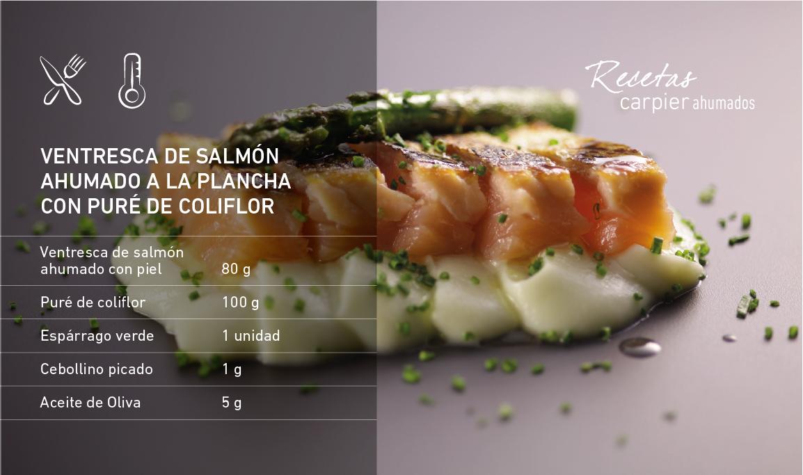 ventresca salmón ahumado