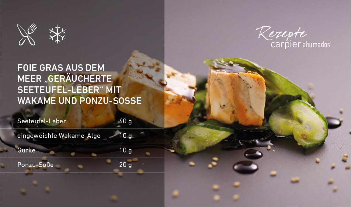 Foie gras aus dem Meer