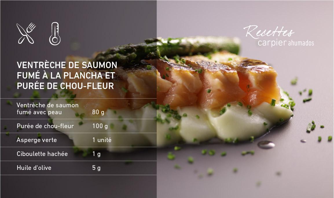 Ventrèche de saumon