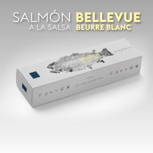 Salmón Bellevue a la salsa Beurre Blanc